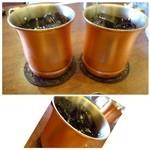 星乃珈琲店 - アイスコーヒー(420円)・・コクやアイスコーヒーらしい苦みには欠けますけれど、普通に美味しい。