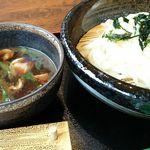 40315091 - 鴨と九条ネギのつけ麺(うどん)