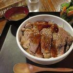 大ど根性ホルモン - サーロインステーキ丼_2015/07