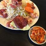 地鶏食堂 - 地鶏焼きー