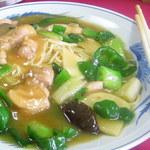 白雲 - 撈麺(からしそば)