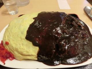 レストランito - 2015/7 ビーフオムライス大盛\1615