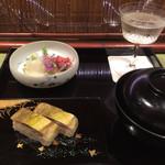 Chakaisekizushi - 前菜と汁物