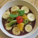 CAFE EST - アサイーボウル:スーパーフルーツアサイーを使った一品