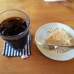 龍神は~と - 料理写真:アイスコーヒー&里芋チーズゲーキ