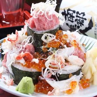 名物海鮮こぼれ寿司
