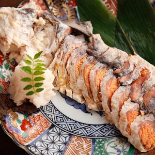 湖国・滋賀の特産品を使った郷土料理をご提供!