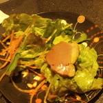 40326190 - 鴨と白葱の和風サラダ・839円