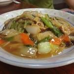 華蓮 - 五目うま煮ソバ。