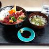 食いもん屋 北甲斐道 - 料理写真:馬刺丼&ねぎとろトッピング