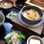 40327292 - 鴨の釜飯定食