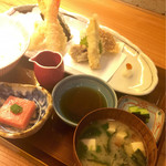 kaiseki TAMA - 懐石天婦羅 1200円