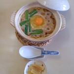 千秋 - 千秋(高知県須崎市原町)鍋焼きラーメン小500円