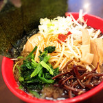 松壱家 - 味噌ネギ豚骨