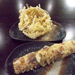 真打 - ごぼう天・ちくわ天(各10円)_2010-05-23