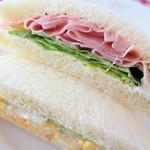 ときわ堂 食彩館 - タマゴ&ハムサンド