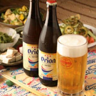 まずは1杯♪オリオンビール!