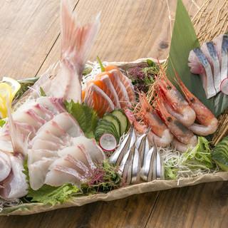 鮮度にこだわった魚料理をお楽しみください♪