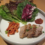 40332523 - ミニポッサムセット キムチ・葉物野菜・ポッサム