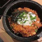 水刺齋 - おいも豚入り熟成キムチチャーハン やや薄味