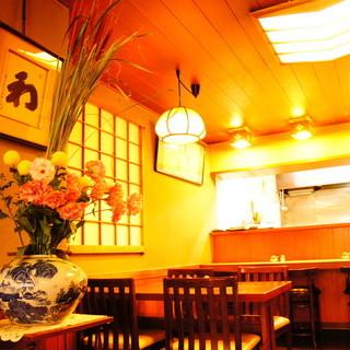 落ち着いた雰囲気は古き良き日本の時代を匂わせます☆
