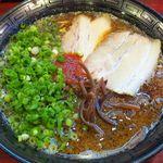 拉麺 空海 - 茶豚骨ラーメン