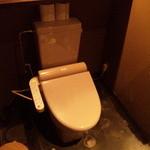 GRILL 炙之介 - トイレも洒落ててきれいでした