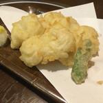 そばよし - ハモ天ぷら
