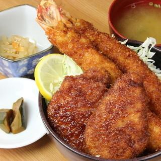 大海老・ヒレMIX丼A