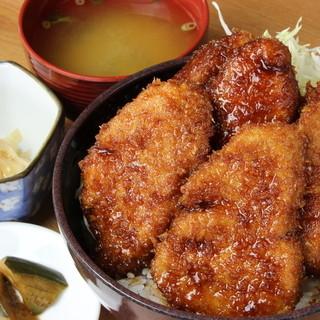 特製ソースカツ丼ヒレ