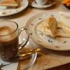 純喫茶 和光 - 料理写真:カフェラッテ+ハム&エッグ