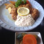 レストラン・ラパン - 2015年7月28日  チキン南蛮Cセット