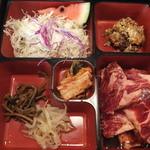 かるび家 大勇 - 料理写真:短角和牛カルビ定食(2015年7月)