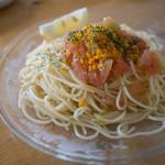 パスタール - カラスミとフレッシュトマトの冷製パスタ