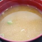 みのり家 - 汁
