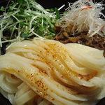 山元麺蔵 - 豚しゃぶとゴマダレの冷たいあえ麺