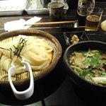 山元麺蔵 - 牛のホルモンのつけ麺