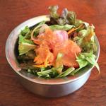 40349585 - 無農薬野菜の山盛りサラダ