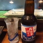 まるさ - 石垣島ビールです。