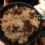 40350684 - プレミアムランチの鶏飯