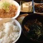 里ん田 - とある日のそば定食(1)