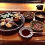 魚がし寿司 - これで600円(外税)です