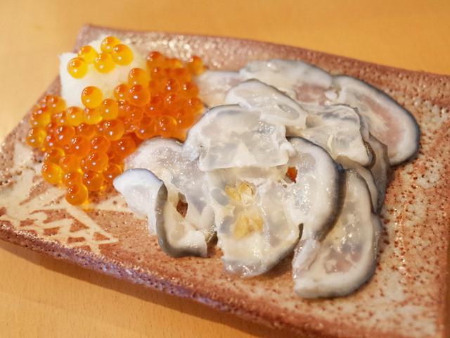 よねさん - 鮭の氷頭和え物(600円)