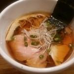 40355007 - 鶏清湯醤油ラーメン✨美味✨(750円)