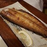 魚大将 うまかっぺや - 料理写真:炭火焼きホッケ