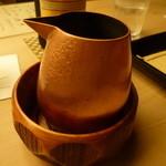 懐石料理 桝田 - 冷酒(黒龍)