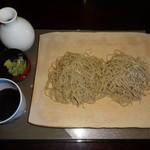 そばの心 志茂部 - 料理写真:もりそば(900円)