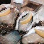魚や 粋 - 生牡蠣!