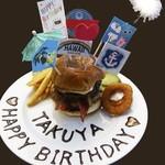 Aloha Dining Lure's Lana - 甘いものが苦手な方や男性の方には料理にもデコレーション無料で承ります!