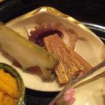 4036565 - 鮑、飯蛸、ばちこ。